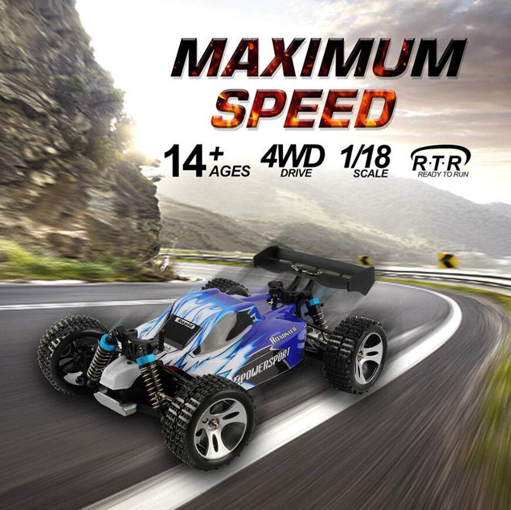 ZIHENGUO Racing RC Off-Road Racing ZIHENGUO Ferngesteuertes Auto 1:18 Full Scale 2,4G Wettbewerbsfähiges Auto A959 High-Speed Stunt SUV Modell Spielzeug Kinder Geschenk 492fc1