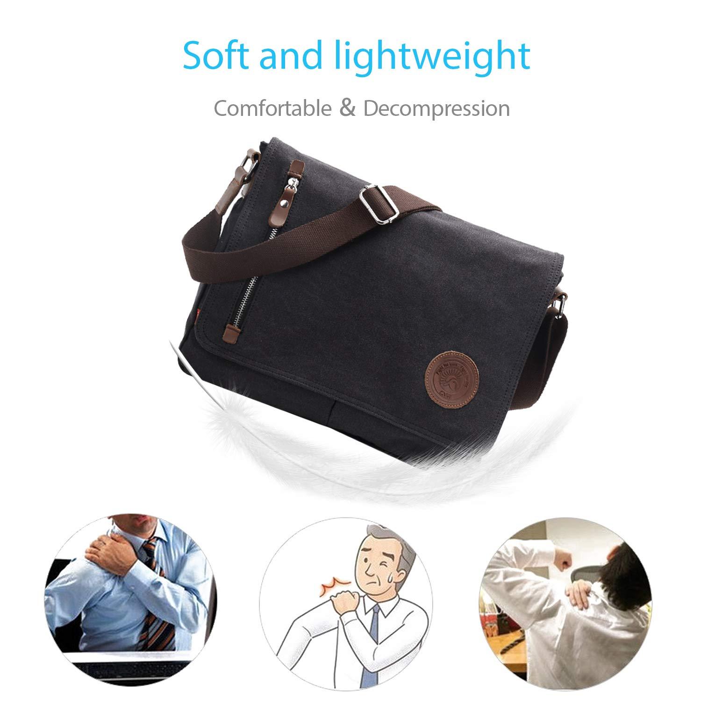FANDARE Bolsa Mensajero Messenger Bag Crossbody Bolso Bandolera ...