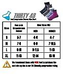 Thirty48 Plantar Fasciitis Socks, 20-30 mmHg Foot