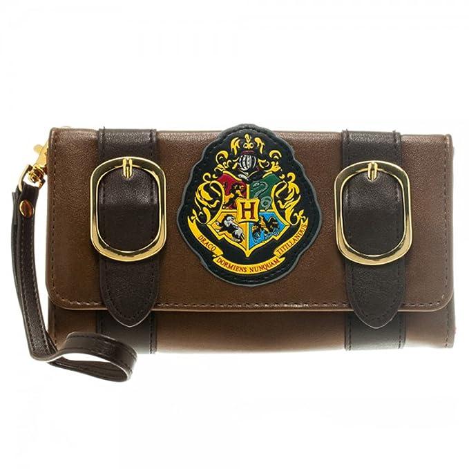 Harry Potter Hogwarts Crest Satchel Fold Wallet