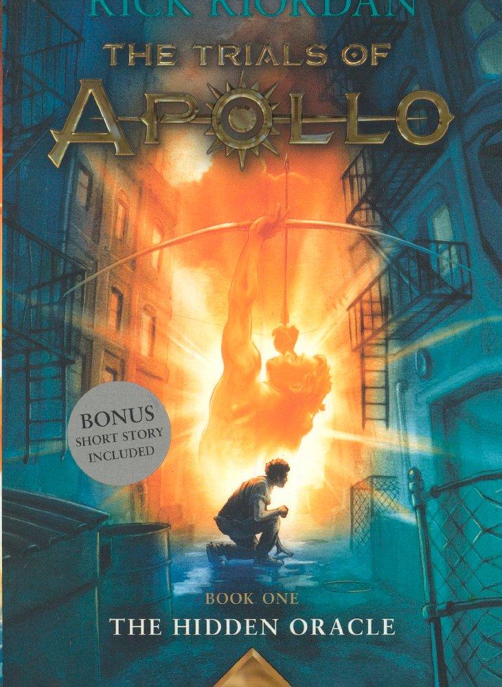 The Hidden Oracle (Trials of Apollo #1) (Turtleback School & Library Binding Edition)