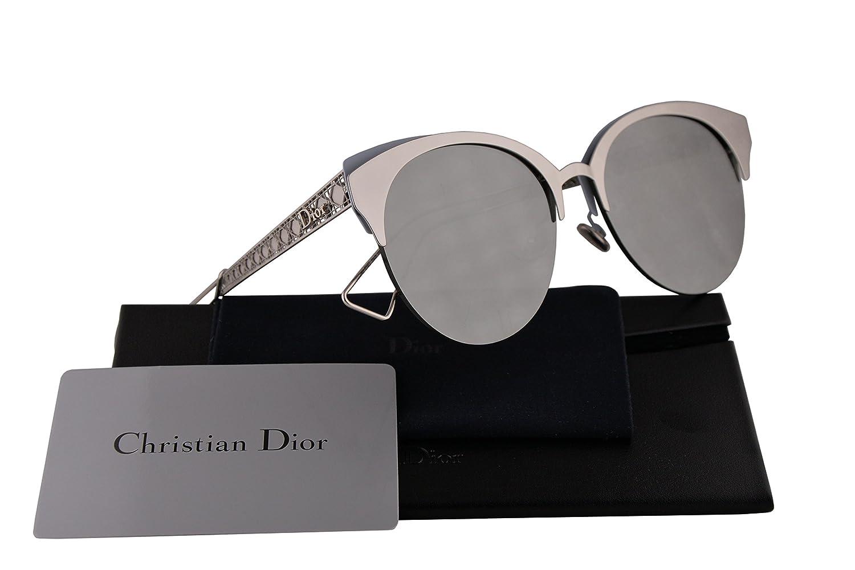 3e39bb92c9290 Amazon.com  Christian Dior DioramaClub Sunglasses Iron w Grey Silver Mirror  Lens 55mm 2BW0T DioramaClubs Diorama Club DioramaClub s  Clothing