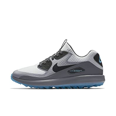 wholesale dealer e508f 275ae Nike Air Zoom 90 IT Golf Shoes 844569-004 - Platinum Anthracite Grey