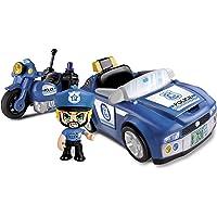 Pinypon Action - Policía Vehículos de Acción (Famosa