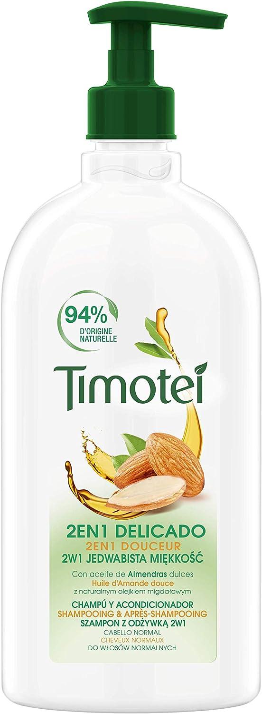 Timotei Champú 2 en 1 Delicado, 750 ml