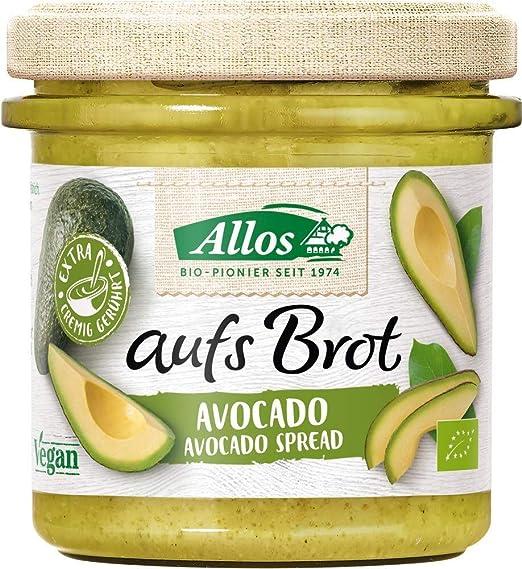 """Allos Streichcreme """"aufs Brot"""" mit Avocado"""