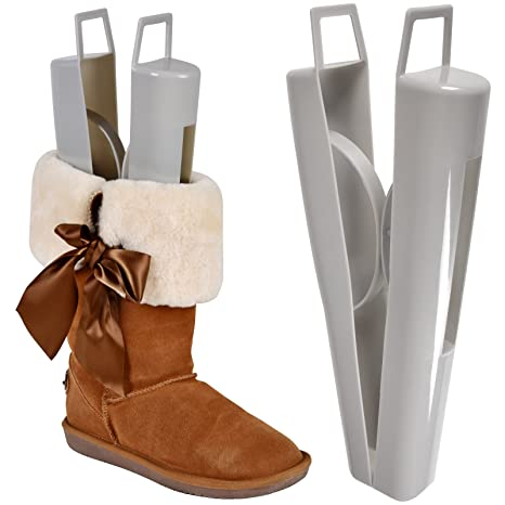 Lady Womens High Top Boots Shoes Shaper Stretcher Tree with Handle 12.5 Inch Shoe Trees