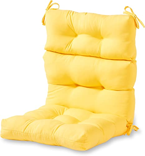Greendale Home Fashions AZ4809-SUNBEAM Sunburst 44'' x 22'' Outdoor Seat/Back Chair Cushion