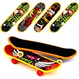 Loves 18 PCS Professional Mini Fingerboards Finger Skateboard (12 Normal + 6 Matte)