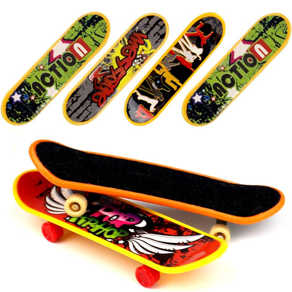 HEHALI 18 PCS Professional Mini Fingerboards Finger Skateboard (12 Normal + 6 Matte)