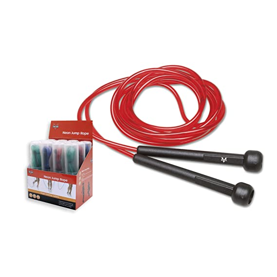Buy Valeo Neon Jump Rope - Red Online at Low Prices in India - Amazon.in