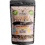 VIVOO RE-EVOLUTION   GRANOLA PROTEICA RAW - PROTEINE DI MANDORLE - gusto MANDORLA E CACAO Biologico, Raw   Senza Zuccheri aggiunti   No: glutine, Latticini, Soia, OGM   Confezione 150 g cad.