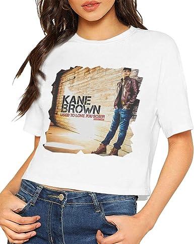 Barbara J Griffin Kane Brown Mujer T - Camisa Elegante Negro ...