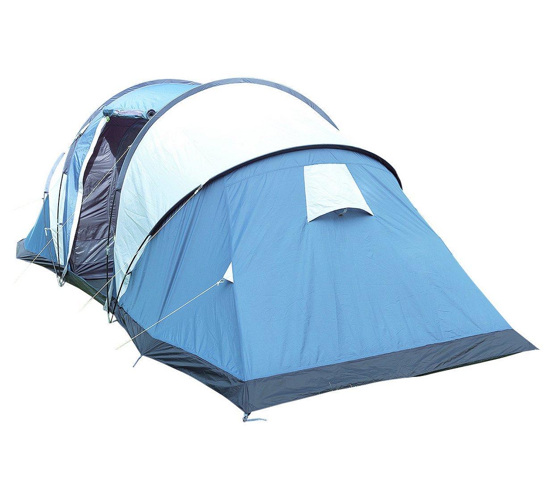 Trespass- Go Further Zelt für 6 Personen, mit Teppich
