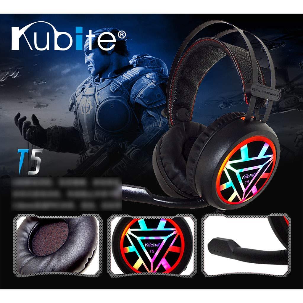 WowPower Kubite Ver-Ear Teens with MIC Foldable DJ Headphones 3.5mm Wired Game Earphones by WowPower (Image #4)