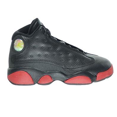 1f0df1e67e84 Jordan 13 Retro BP Dirty Bred Little Kid s Shoes Black Gym Red 414575-003
