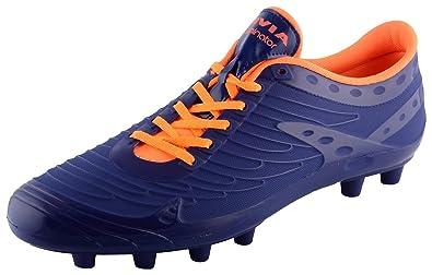 Blue PU Football Shoes - 9 UK at Amazon
