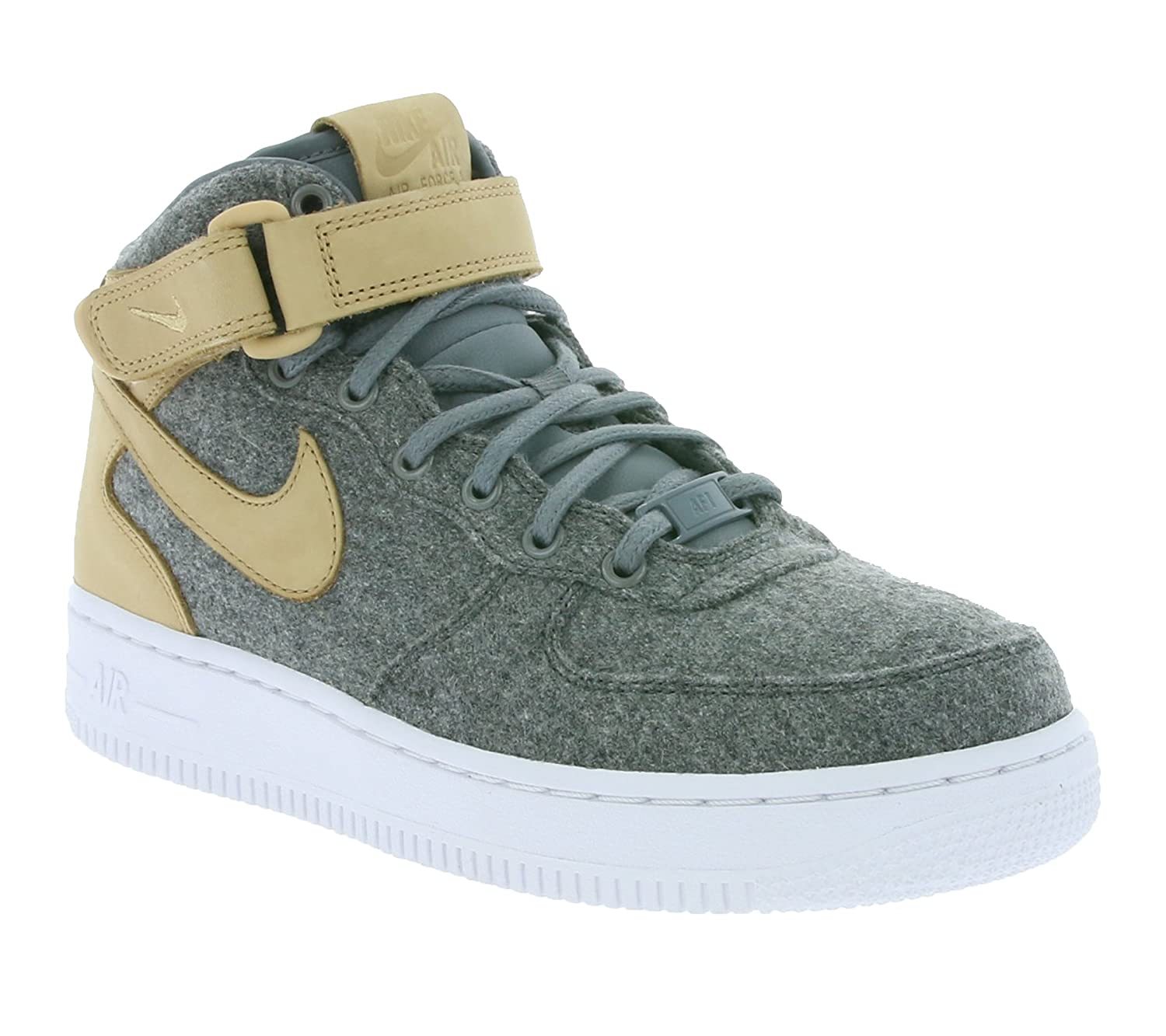 really cheap new arrive wholesale dealer Buy Nike W AIR Force 1 '07 MID LTHR PRM Womens Basketball-Shoes ...
