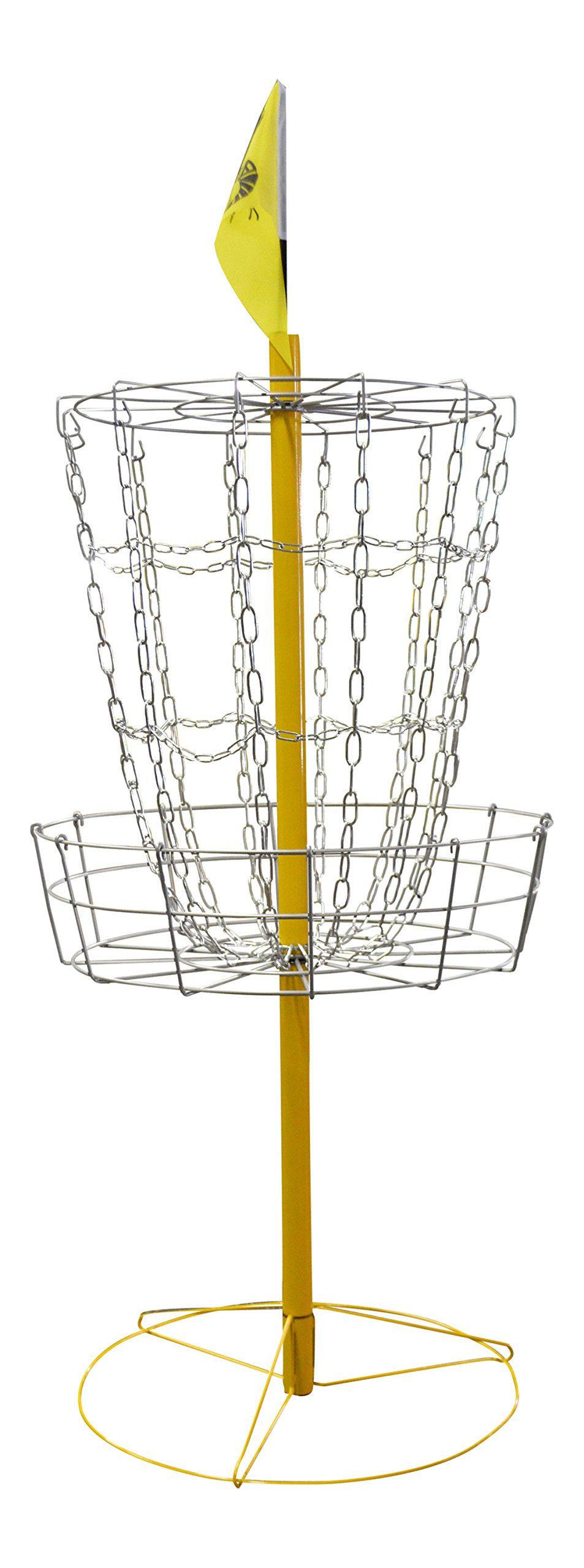 The Hive Disc Golf Practice Basket Cross Chains by the Hive