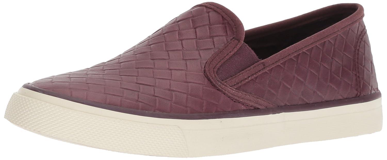 Sperry Top-Sider Women's Seaside Emboss Weave Sneaker B078SGH9XN 11 M US|Wine