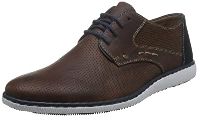 Mens-Lace-Up Braun 641357-2