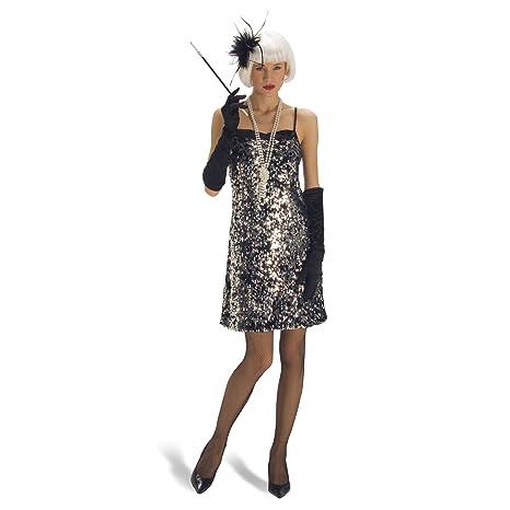 Costume da Cabaret - Abito da Charleston anni  20- Costume da ragazza -  Travestimento 14b5dda37c1