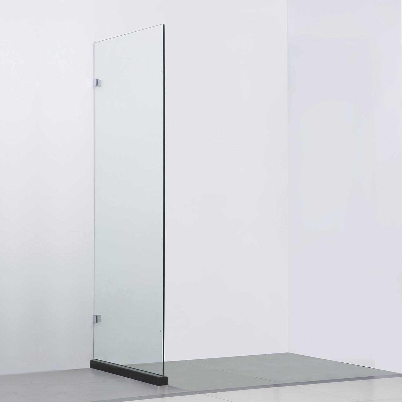Bai 0929 sin marco mampara de baño de cristal/Reversible Panel lateral – 36