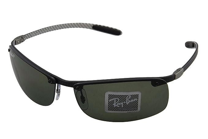 f1a173cbbc Ray-Ban Rb8305 Rectangular Polarized Sunglasses 64.4 mm