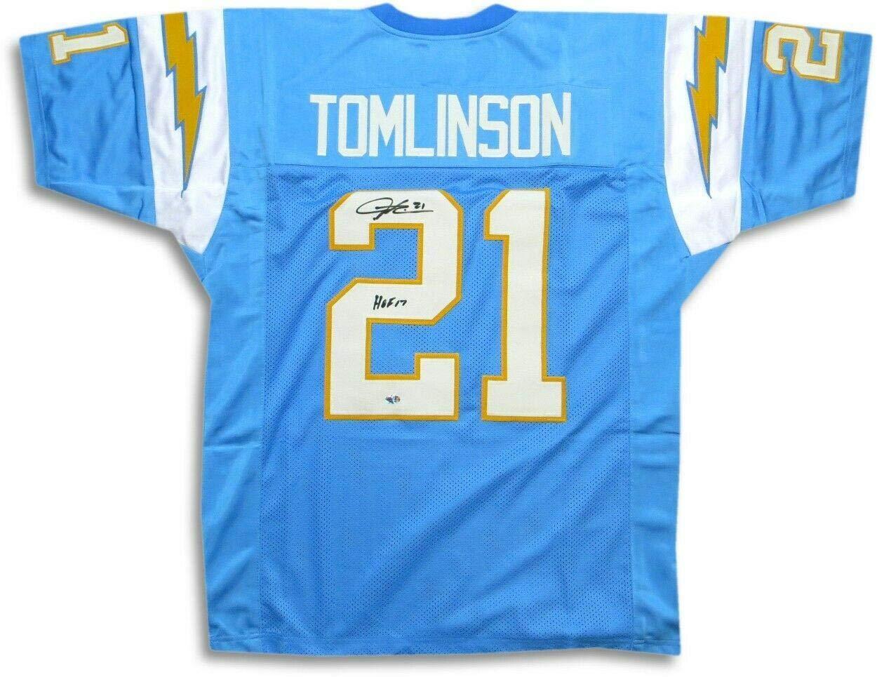 Signed LaDainian Tomlinson Jersey