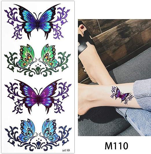 Zhuhuimin Rose 5 unids Cuerpo Maquillaje Tatuaje Color Dibujo ...