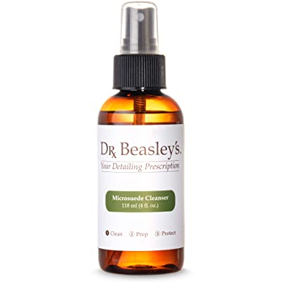 Dr. Beasley's Microsuede Cleanser - 12 oz. Works on Ultrasuede or Faux Suede, Readily Biodegradable: Automotive