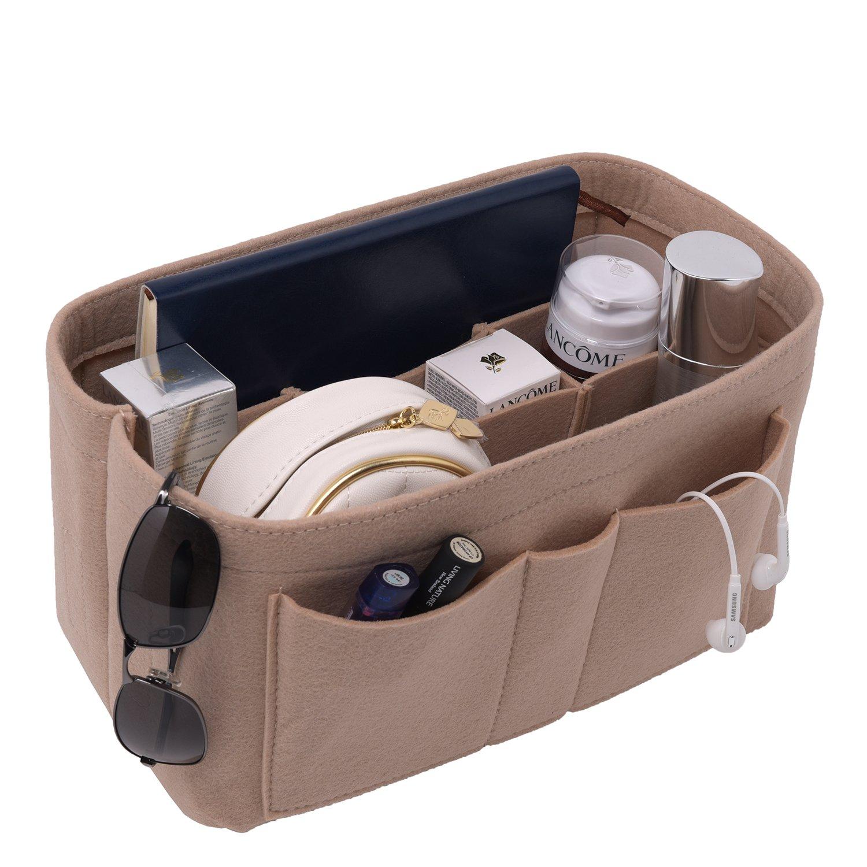Luxury Purse Organizer, Felt Bag Organizer, Handbag Tote Bag in Bag Organizer for Speedy Neverfull Longchamp, 3 Sizes