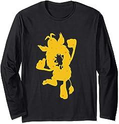 Cheese Cut Silhouette Booba Long Sleeve T-Shirt