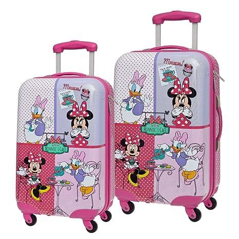Disney Set de Maletas Minnie y Daisy, 55/67 cm, 86 litros ...