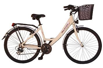 "Bicicleta de paseo Rocasanto BELLA AL, ruedas 26"",tamaño cuadro aluminio 43,"