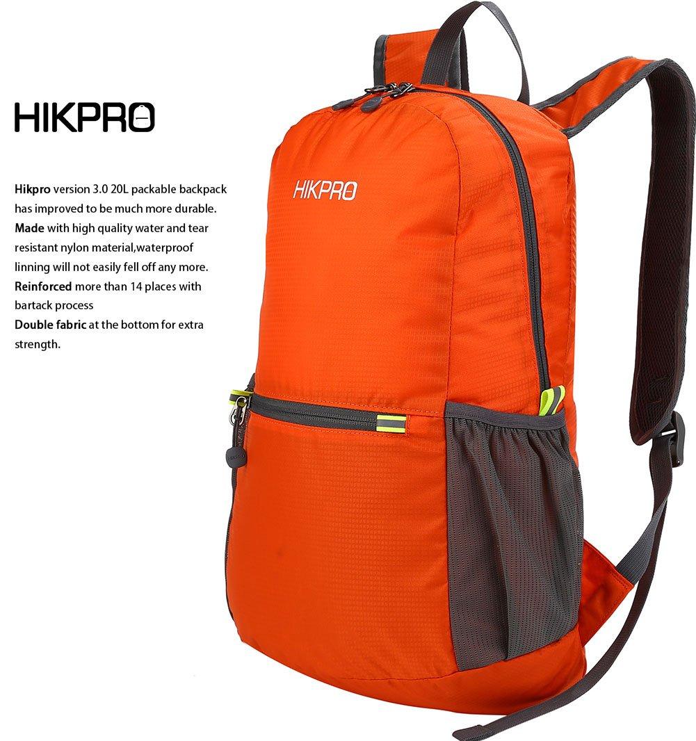Hikpro Ultra Lightweight Packable Backpack- Fenix Toulouse Handball cfdecd299b401
