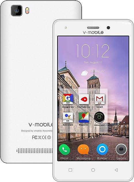 Moviles Libres Baratos 4G Android 8.0 Oro, A11(2020) 5.2 Pulgadas ...