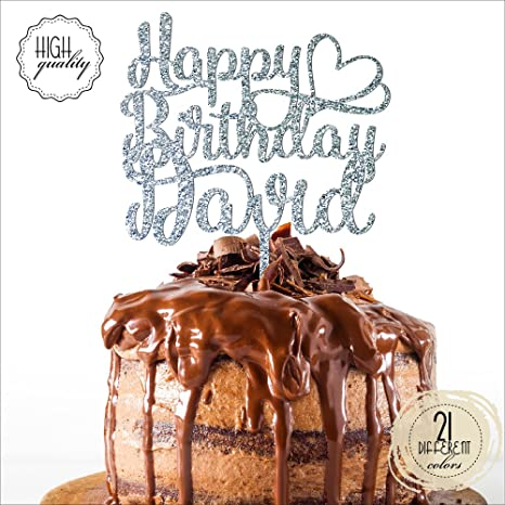 Amazon Com Happy Birthday Heart Personalized Name Birthday Cake