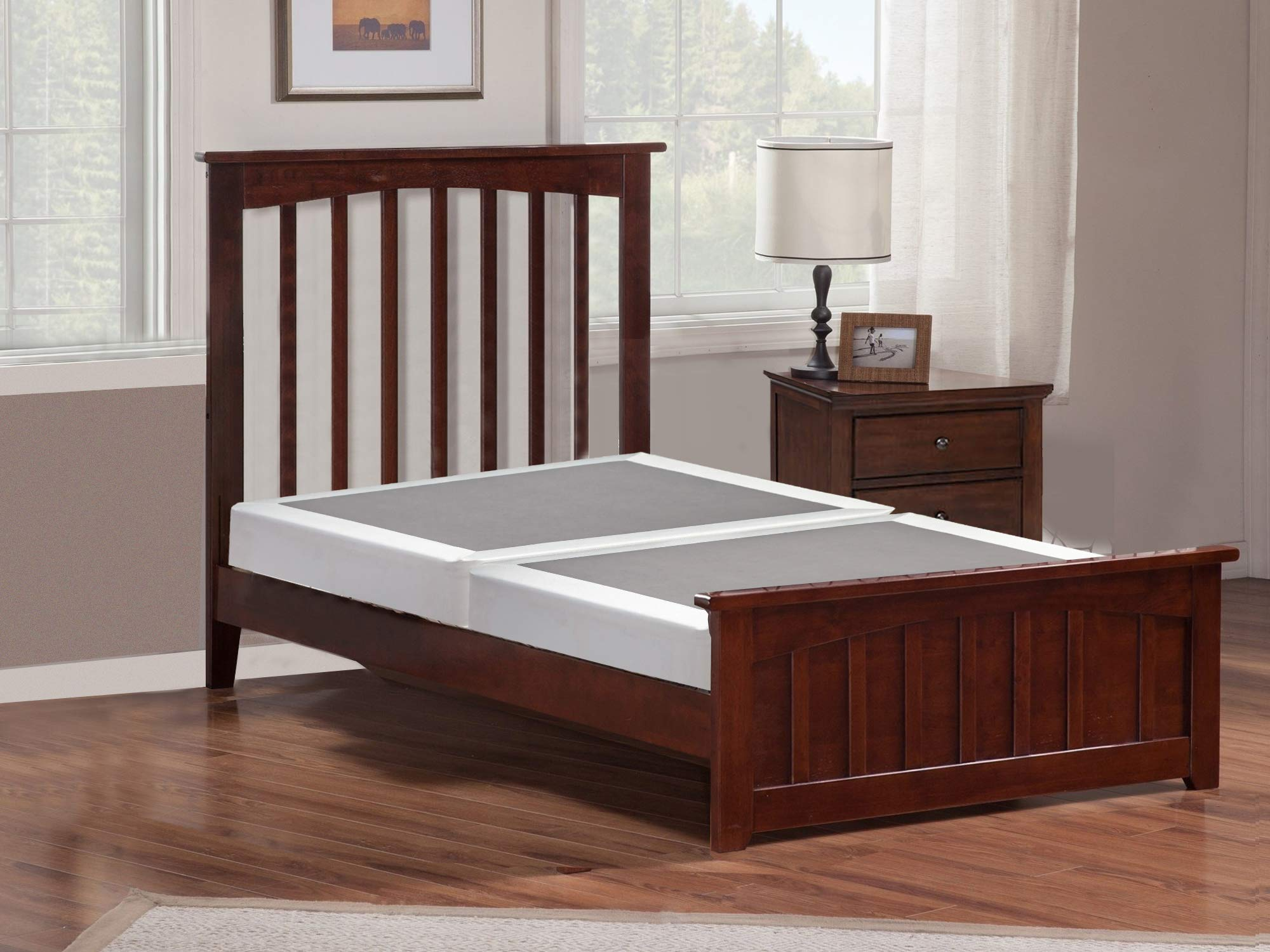 Mayton 8-Inch Full Size Split Box Spring Mattress Foundation/Strong Structure, 53x74