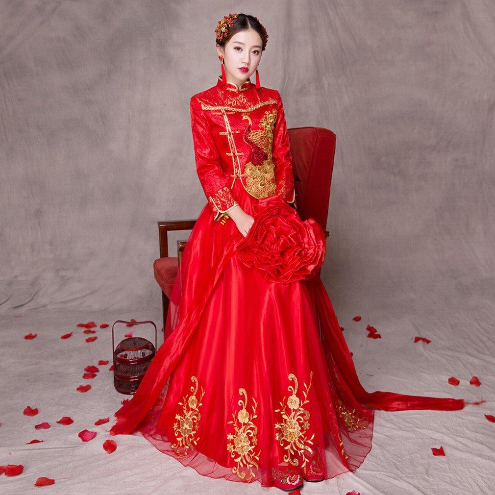 JJK Frühlings-show Wo Braut Hochzeit Chinesische Hochzeitskleid ...
