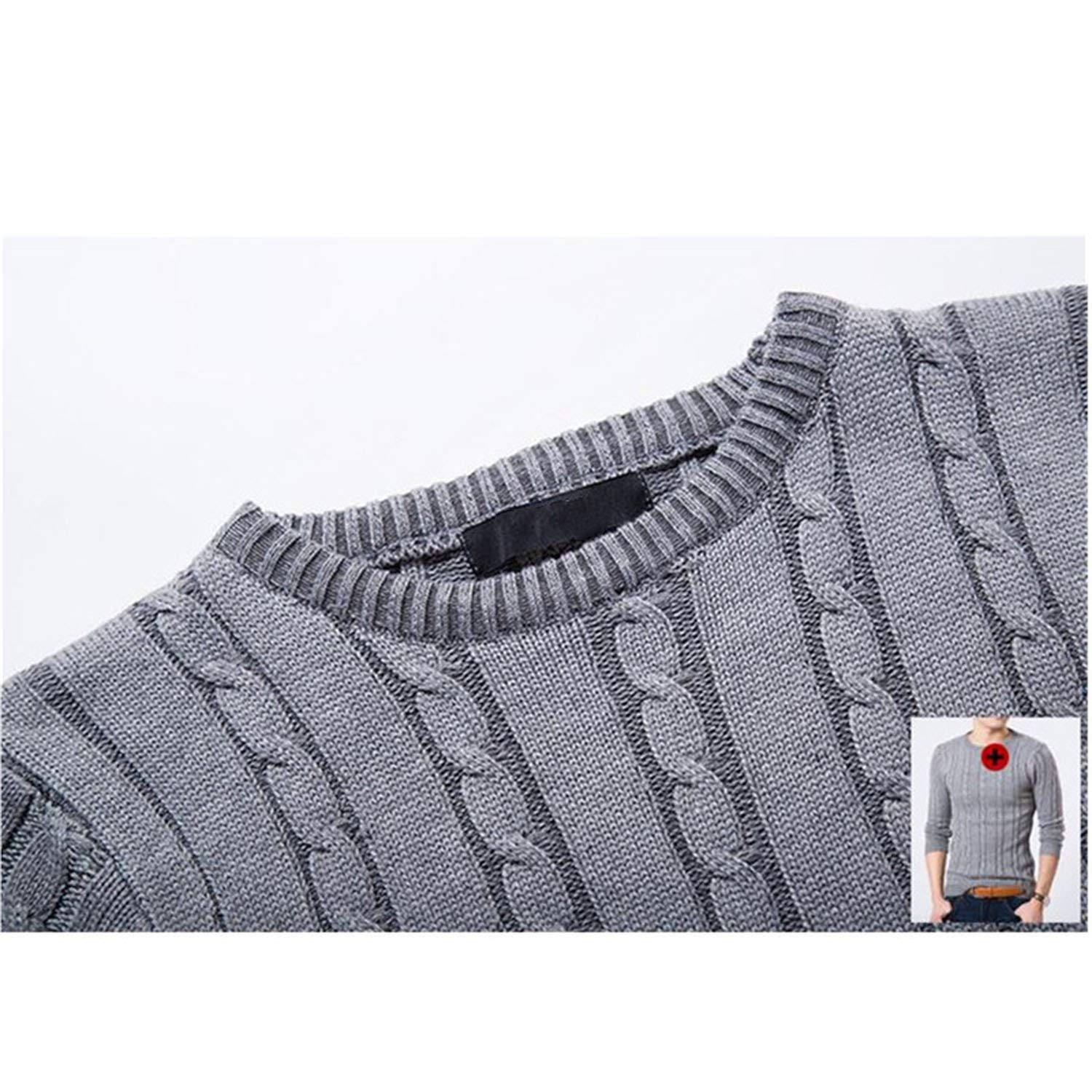 cant be satisfied Mens Sweaters Autumn Casual Sweater O-Neck Slim Fit Knitting Men Sweaters Pullovers