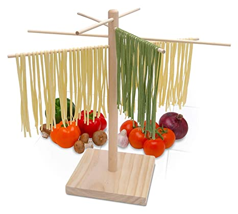 Bellemain Large Wood Pasta Drying Rack by Bellemain