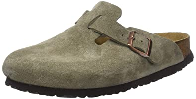 brand new 4efed bee79 BIRKENSTOCK Damen Boston Clogs, grau: Amazon.de: Schuhe ...