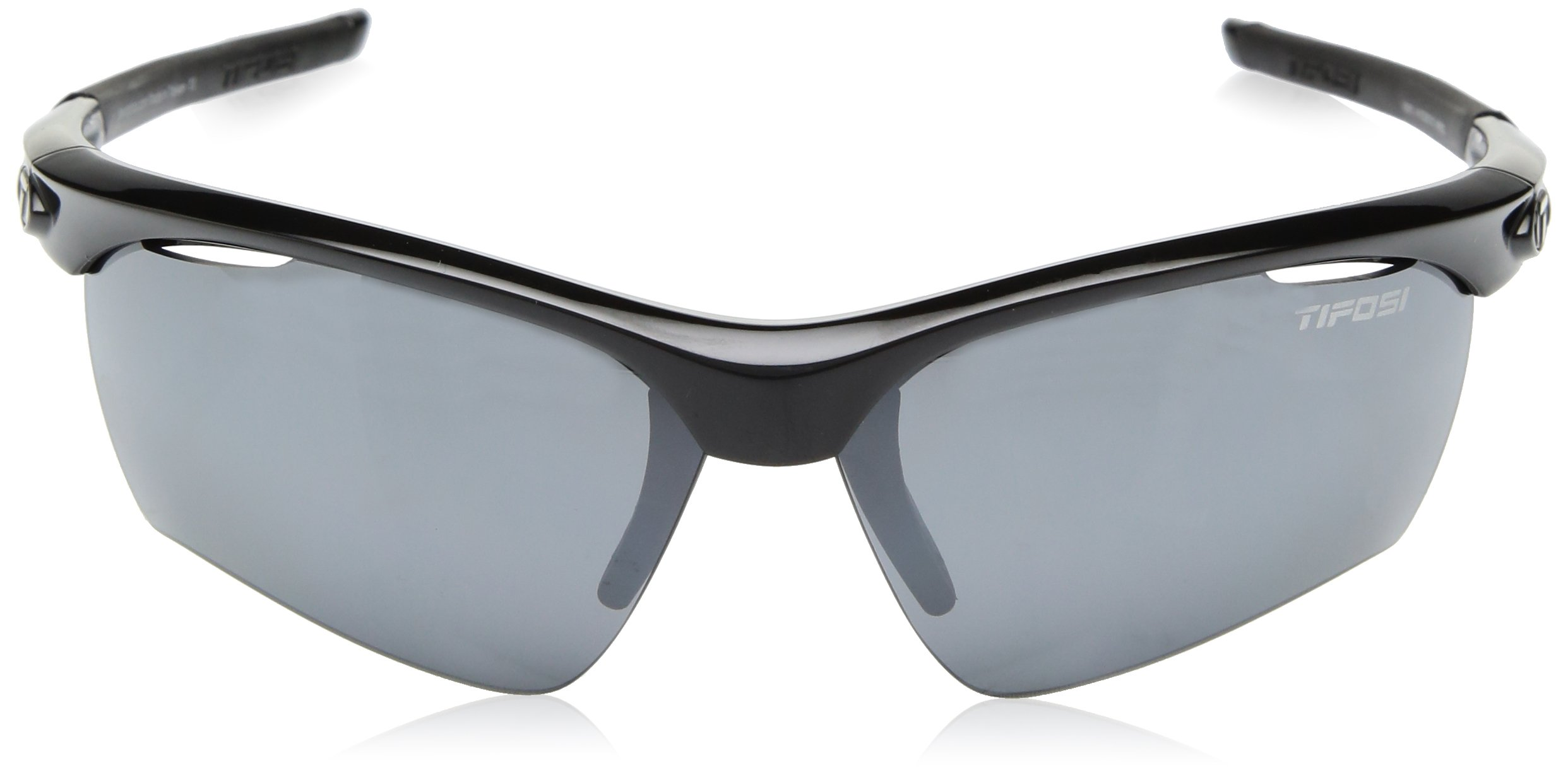 Tifosi Vero Wrap Sunglasses, Gloss Black, 63.8 mm by Tifosi (Image #2)