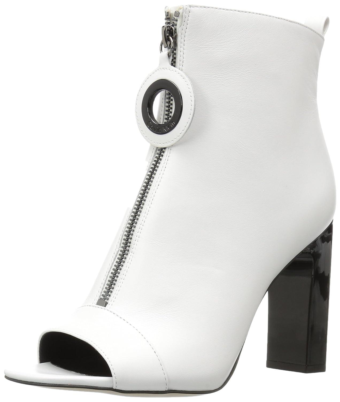 Calvin Klein Women's Minda Ankle Boot B071WLCDMM 5 M US White