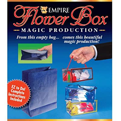 Loftus Flower Box Production Magic Trick: Toys & Games
