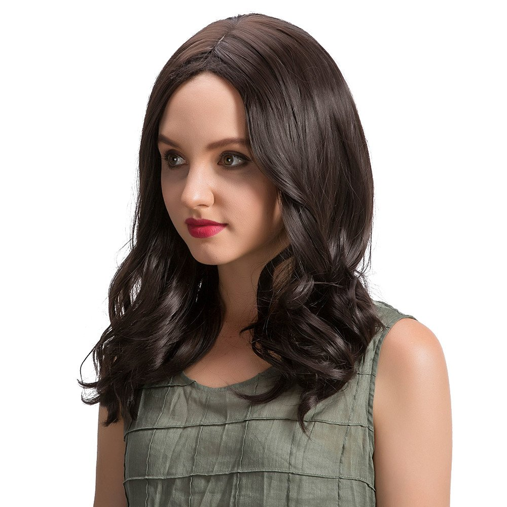 Amazon 2019 Long Loose Wavy Curly Hair No Lace Front Wig Curly