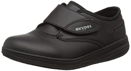 Oxypas Medilogic Emily Slip-resistant, Antistatic Nursing Shoe, Black (Blk), 6.5 UK (40 EU)