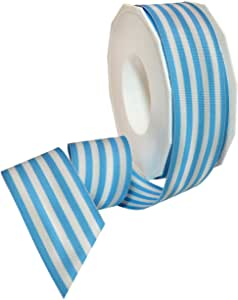 1.5in 20YD BabyBlue Ruffle Edge Ribbon for Gift Wrapping,Floral,Craft Use