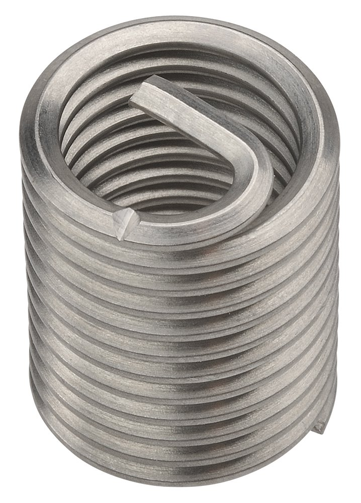PowerCoil 3520-6.00X2.0DP M6 x 1.0 x 2.0D Wire Thread Inserts 10 Pack